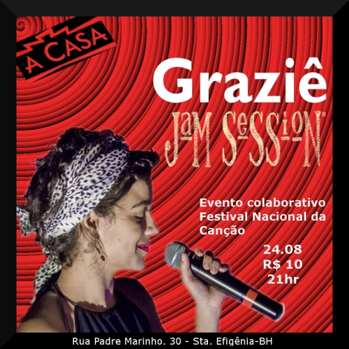 Graziê apresenta Jam Session FENAC